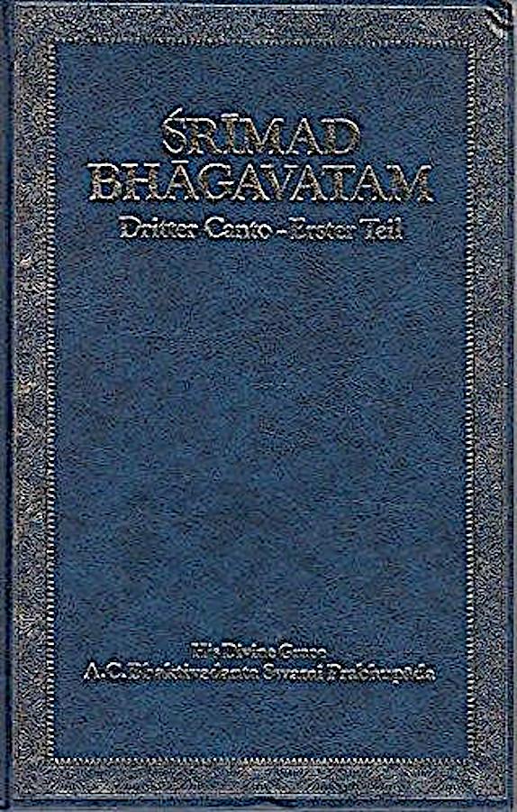 Šrimad Bhagavtam, tretji spev – prvi del