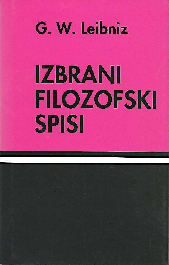 Izbrani filozofski spisi